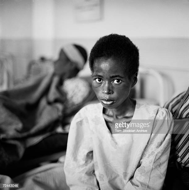 A woman patient ill with HIV/AIDS pictured at Chiradzulu District Hospital in Malawi It is estimated that 254 million people are infected with HIV...