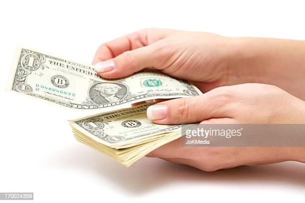 Woman Paying