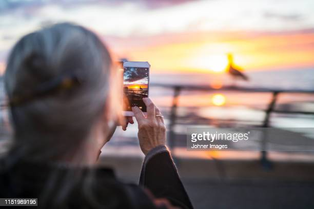 woman photographing - photo messaging stock pictures, royalty-free photos & images