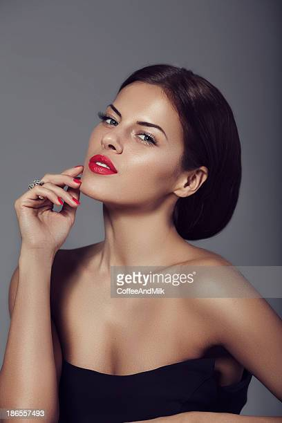 woman - cleavage close up stock photos and pictures
