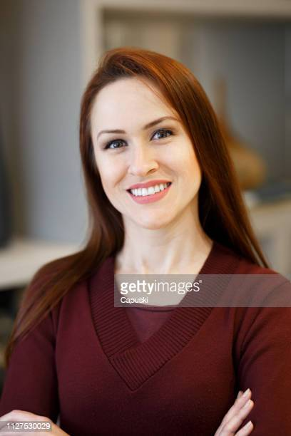 woman portrait at office - pardo brazilian stock pictures, royalty-free photos & images