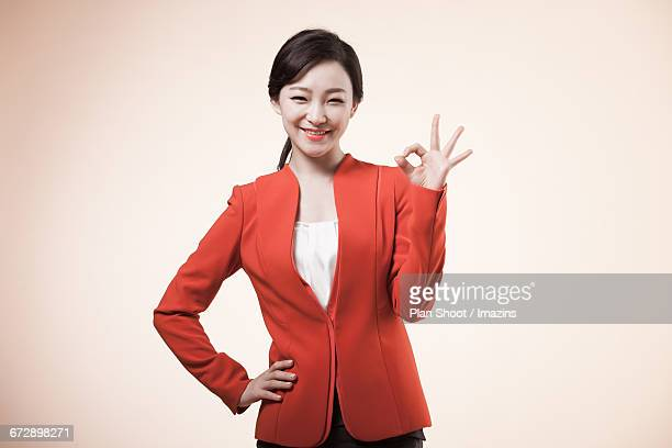 Woman Portrait of business