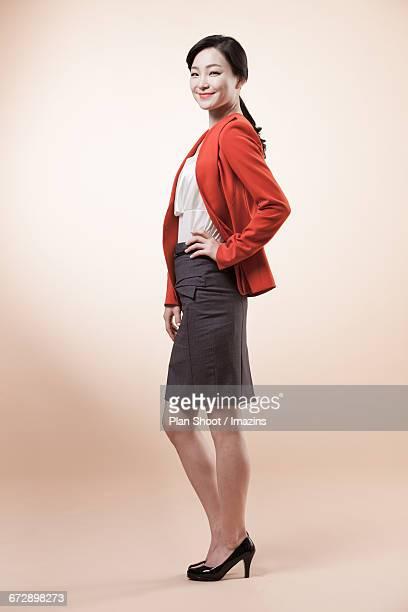 Woman Portrait of business