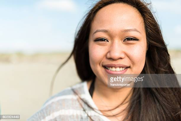 woman portrait - beautiful filipino women stock photos and pictures