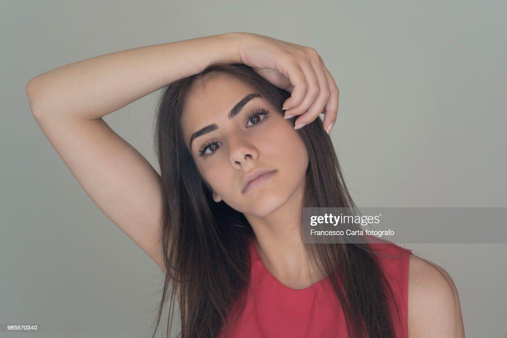 Woman portrait : Stock Photo