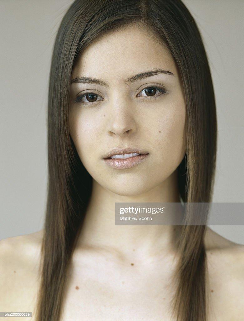 Woman, portrait : Stockfoto