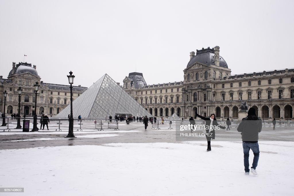 FRANCE-WEATHER-SNOW : News Photo