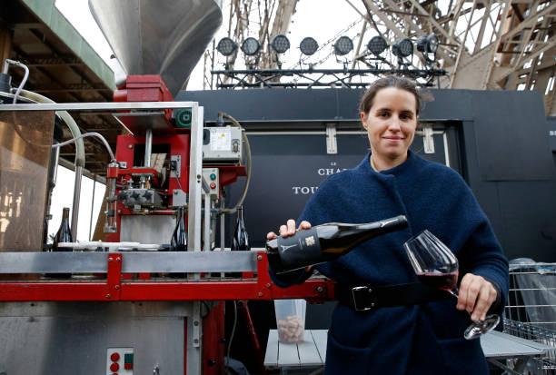 """FRA: Le Domaine La Bouche Du Roi And la SETE Launch The 2nd """"Chai De La Tour Eiffel"""" Wine At The Eiffel Tower"""