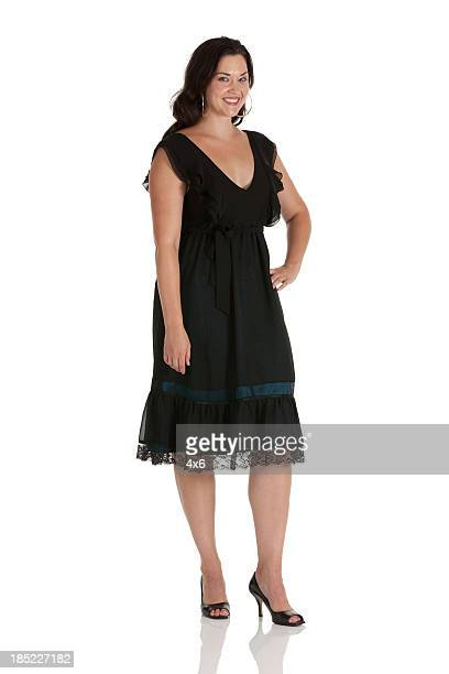 woman posing - prom dress stock pictures, royalty-free photos & images