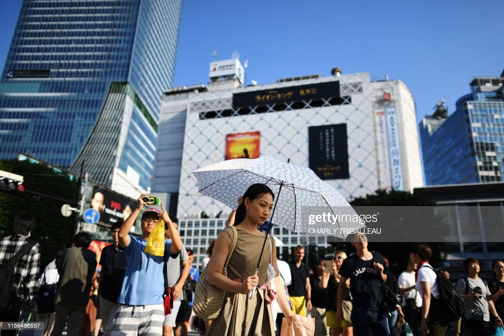 RUGBYU-WC-2019-TOKYO-FEATURE-LIFESTYLE : News Photo