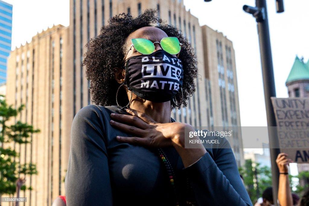 TOPSHOT-US-JUSTICE-RACE-FLOYD : Foto di attualità