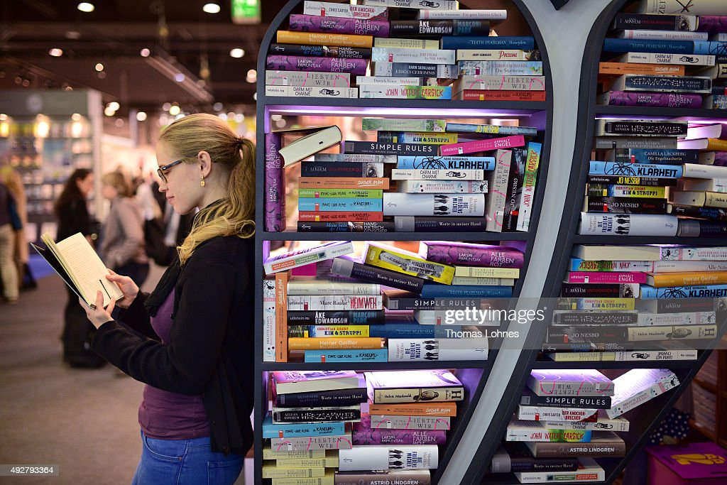 Frankfurt Book Fair 2015 : News Photo