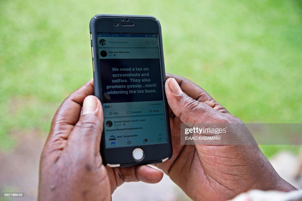 UGANDA-INTERNET-TAXATION : Nachrichtenfoto