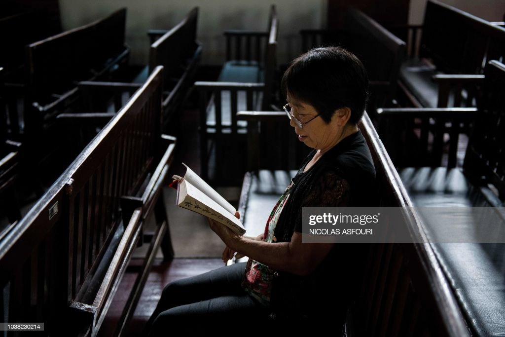 CHINA-VATICAN-RELIGION-POLITICS : News Photo