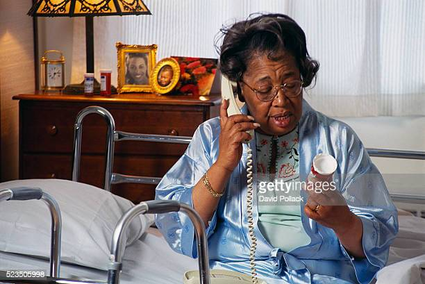 Woman Receiving Home Health Care