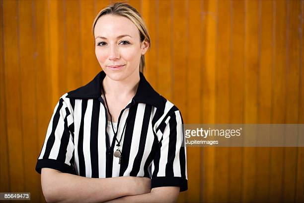woman referee - referee stock pictures, royalty-free photos & images