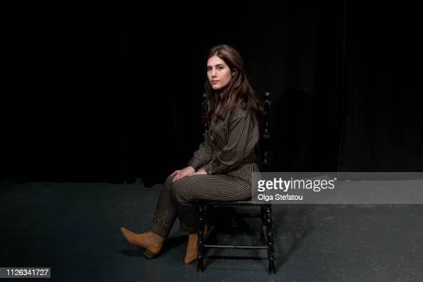 confident woman sitting. - vignette stock pictures, royalty-free photos & images