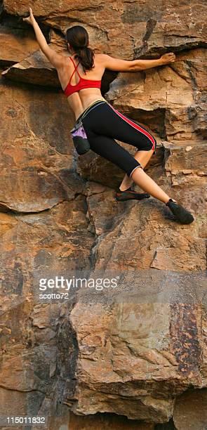 Mulher Rockclimber