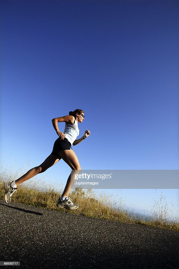 Woman running,  California,  USA : Stock Photo