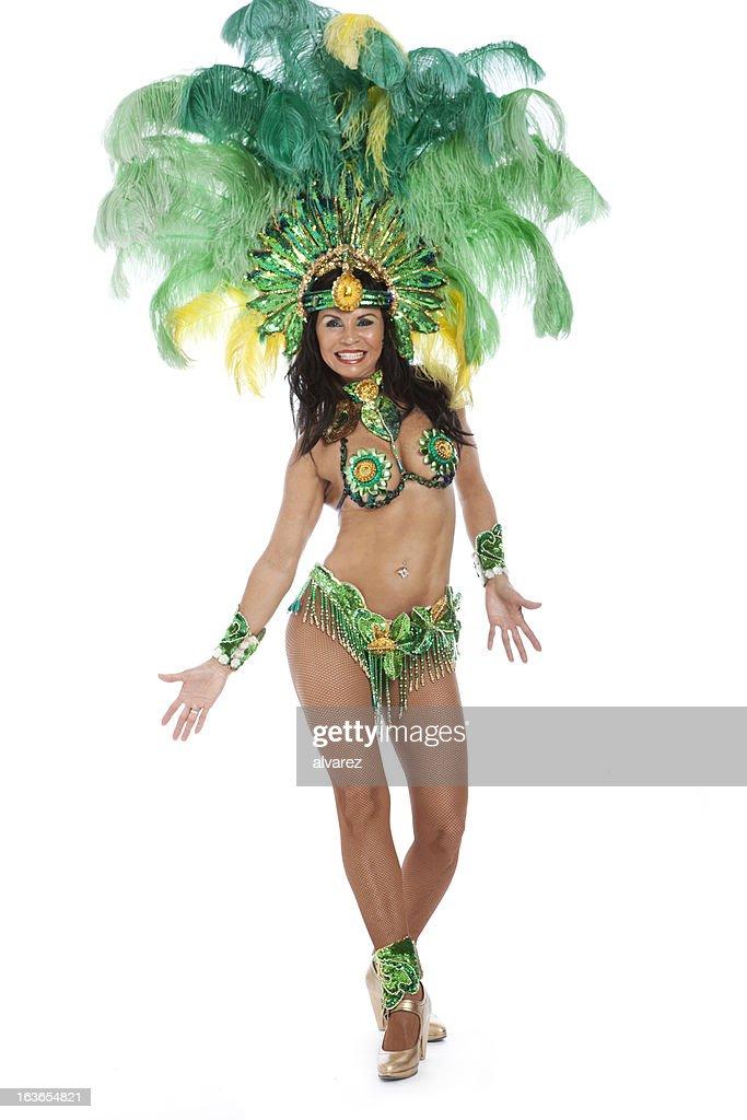 Woman Samba Dancer : Stock Photo