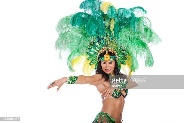 Woman Samba Dancer