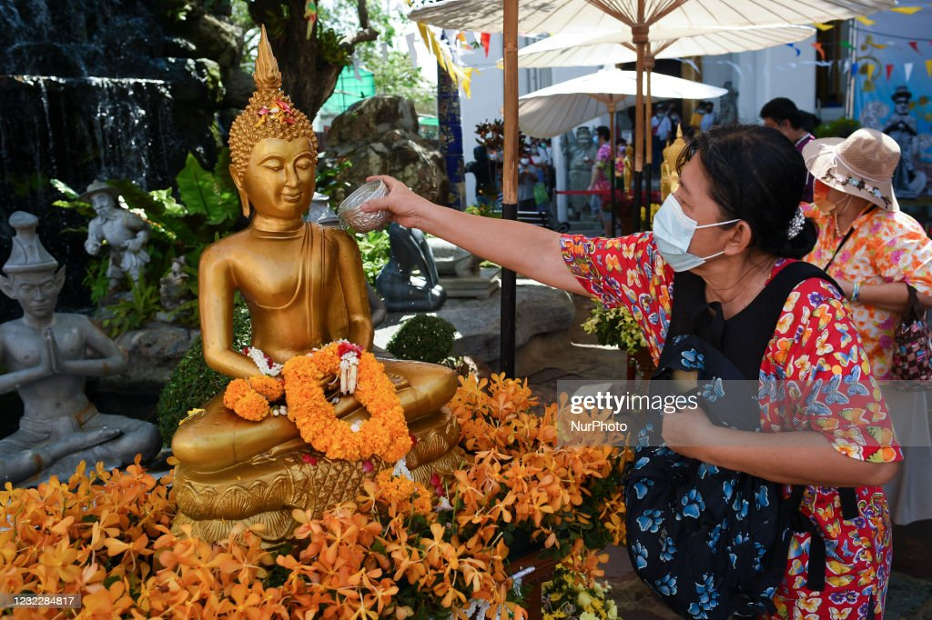 Songkran Festival Events Cancelled In Thailand Amid COVID-19 : News Photo