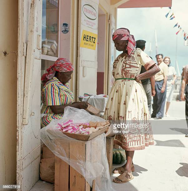 Woman Selling Candy St Martin