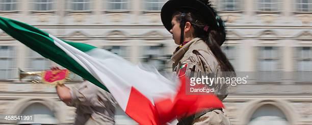 Veranstaltung Italia 150 die Frau Schwalbenschwanz