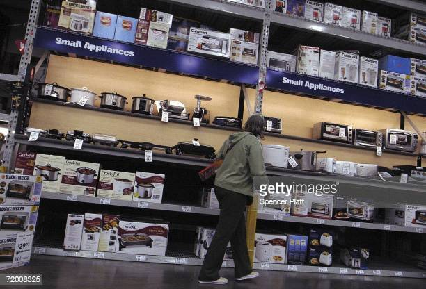 A woman shops at a Lowe's store on September 26 2006 in Brooklyn New York Lowe's the worlds second largest homeimprovement retailer has stated that...
