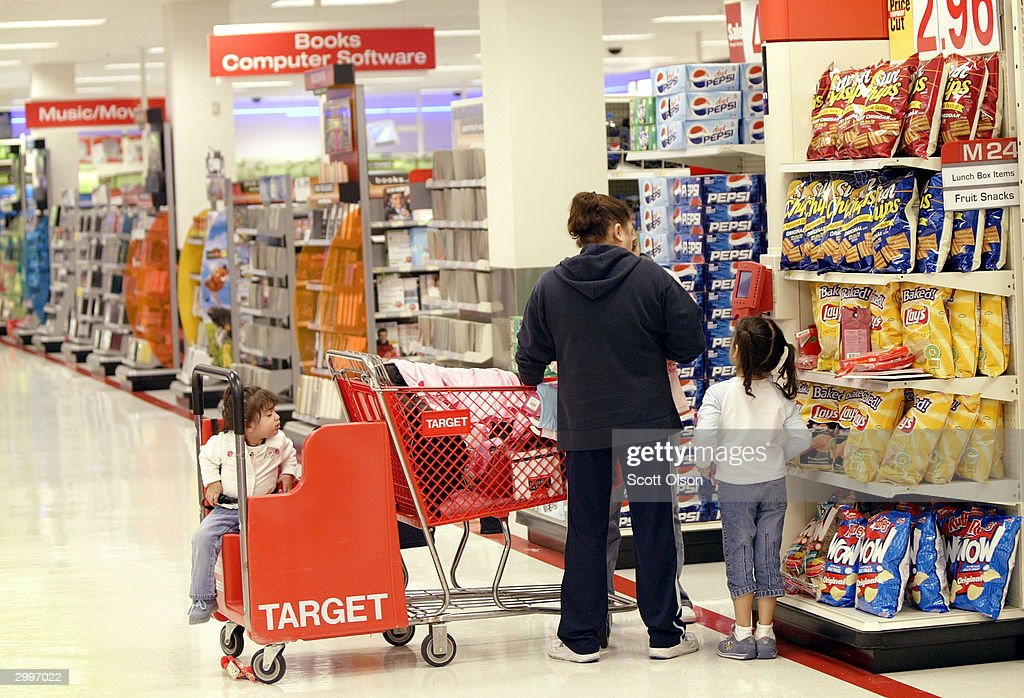 Target Reports Fourth Quarter Earnings : News Photo