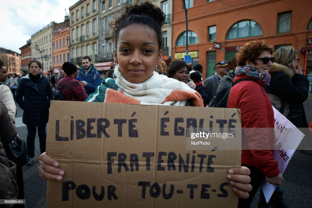 Protest against the French Interior Minister Collomb