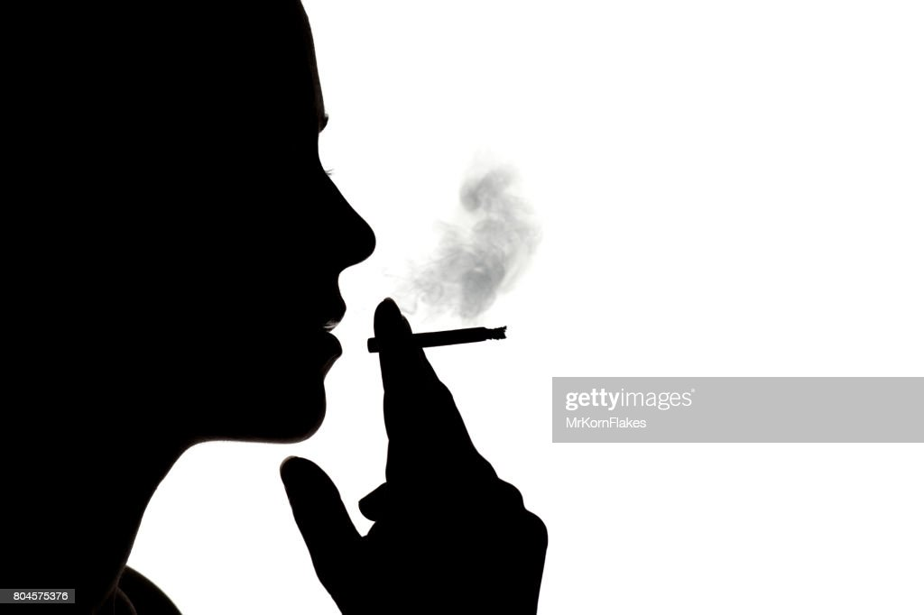 Woman Silhouette : Stock Photo