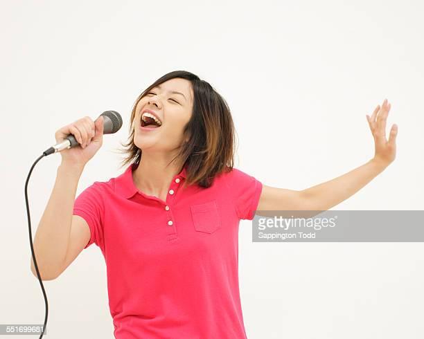 Woman Singing Song