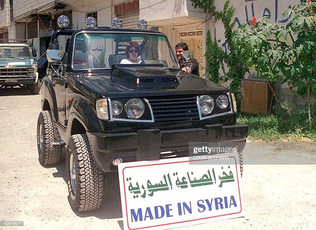 A woman sits behind the wheel of the new Syrian ma Pictures | Getty ...
