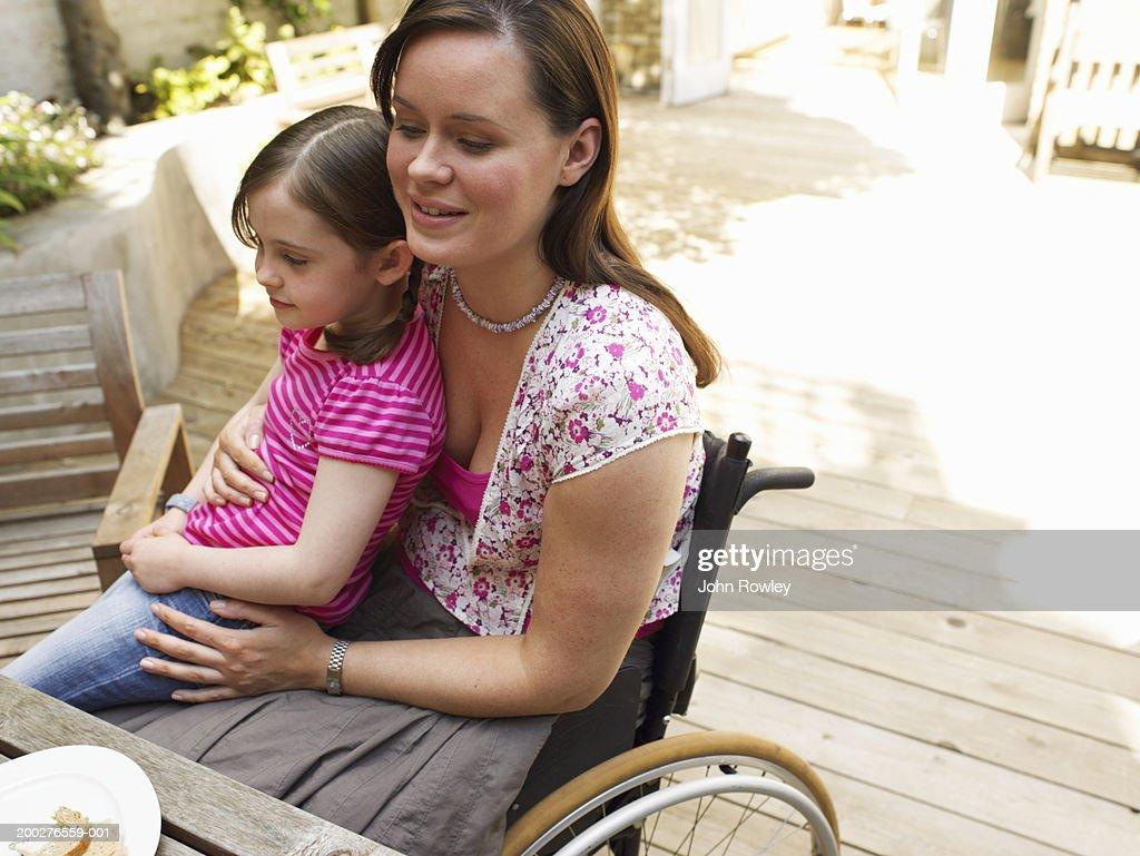 lap sitting woman