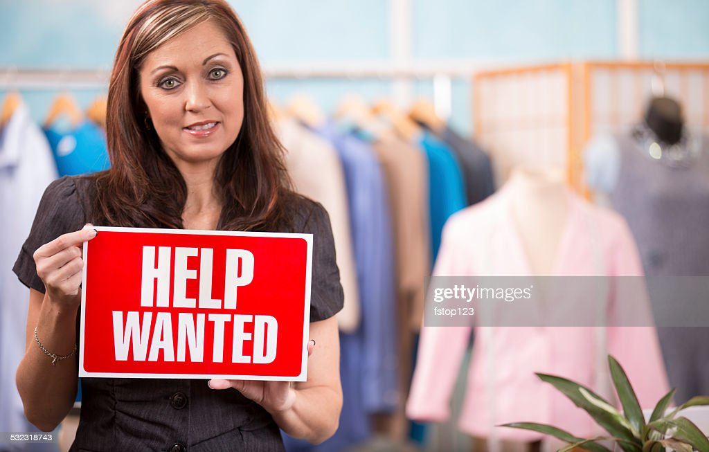 Woman Small Business Owner Fashion Designer Boutique Help Wanted High Res Stock Photo Getty Images