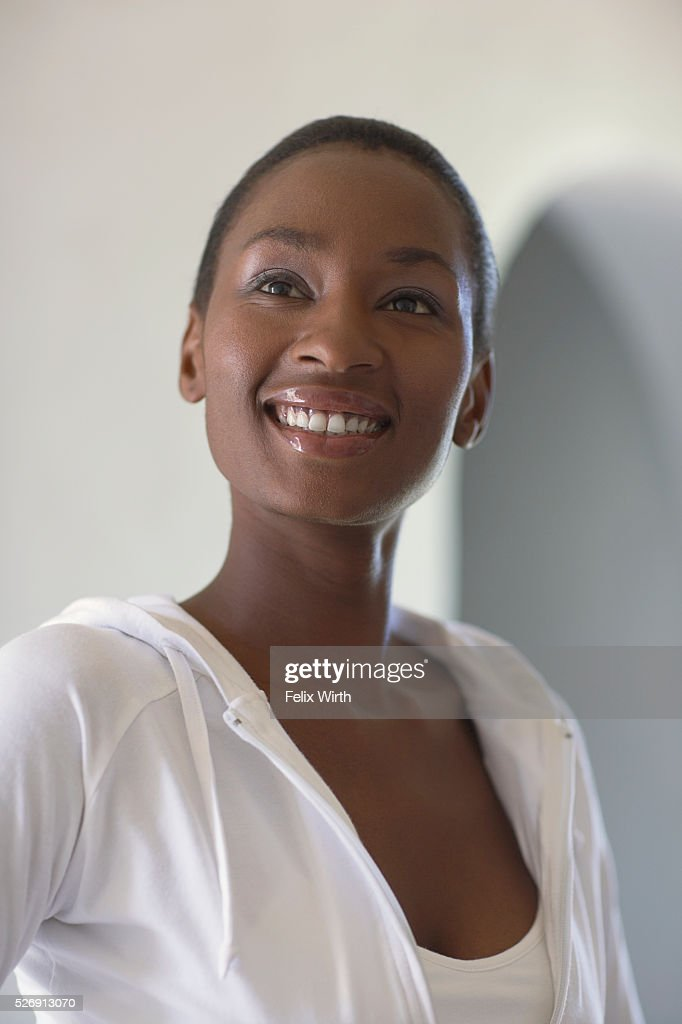 Woman smiling : Stock-Foto