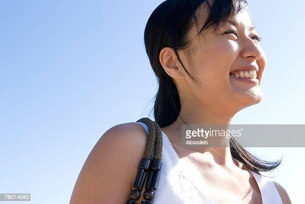 woman smiling  - 30代 ストックフォトと画像