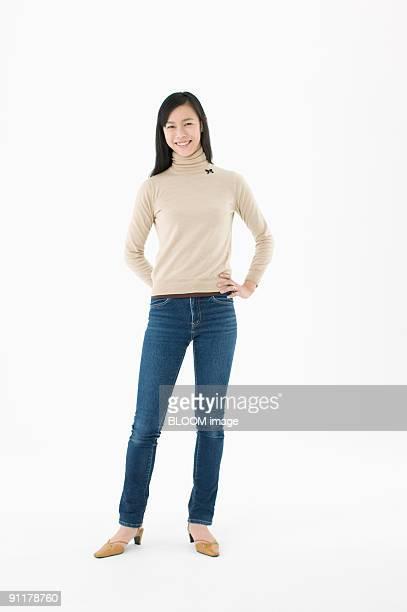 woman smiling, portrait - 30代 ストックフォトと画像
