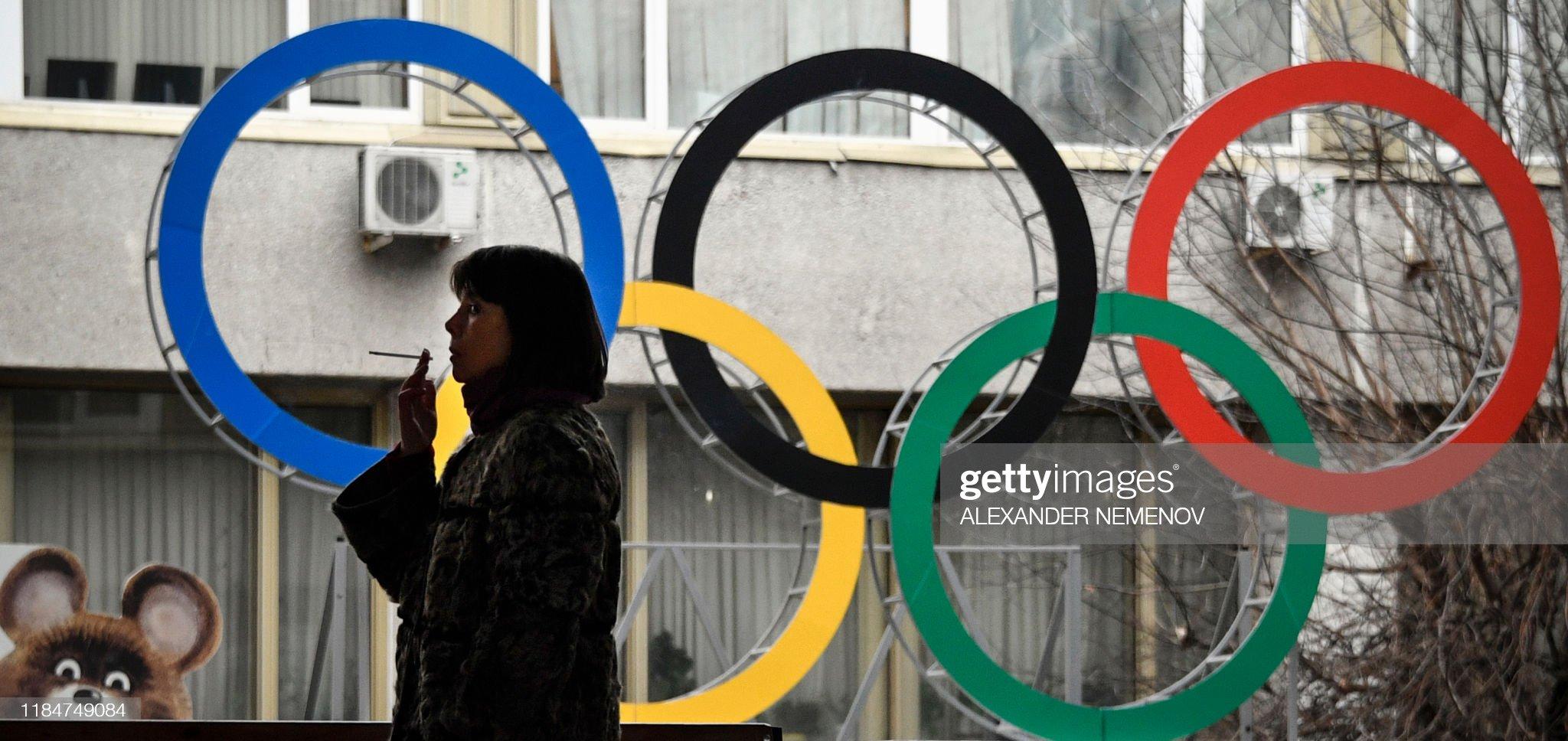 RUSSIA-DOPING-WADA-BAN-OLY-2020 : News Photo