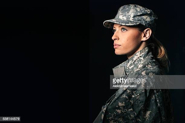 woman soldier - army soldier stock photos and pictures