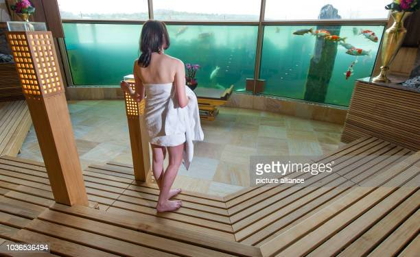 German Sauna Stock Photos and Pictures | Getty Images