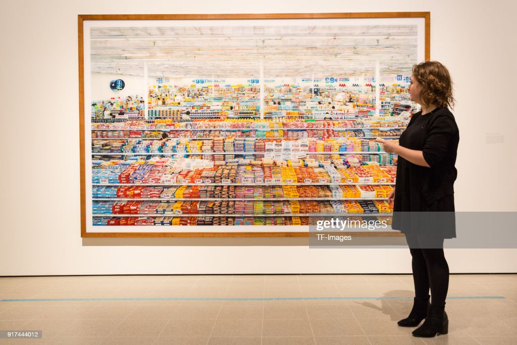 Newly Refurbished Hayward Gallery Opens With Andreas Gursky Retrospective News Photo