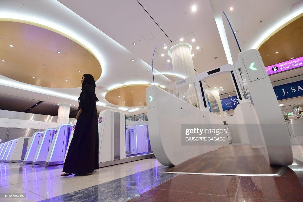 UAE-AIRPORT-SECURITY : Foto jornalística