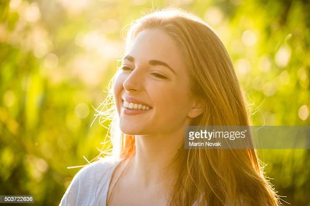 Woman - sunny portrait