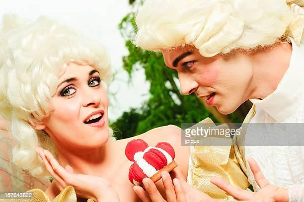 Femme surprise par son amant