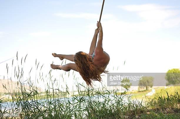 Woman swing