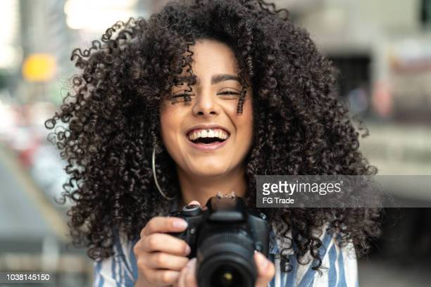 woman taking a photography - photographer stock photos and pictures