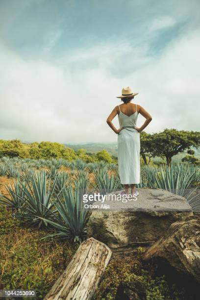 女性のメキシコ旅行