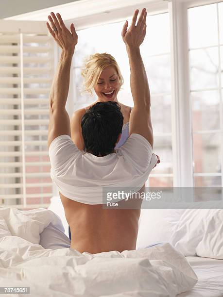 Woman Undressing Her Lover